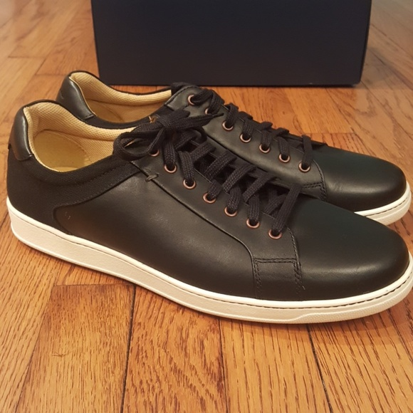 New Cole Haan Black Leather Shapley